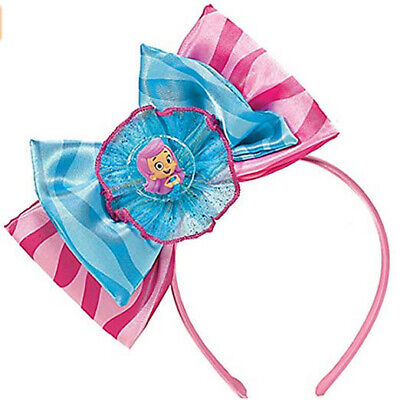 BUBBLE GUPPIES Birthday Party MOLLY deluxe HEADBAND with bows One size fits