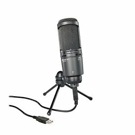 AT2020 USB Plus streamer microphone
