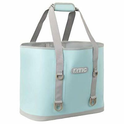 Blue Beach Bag (RTIC Large Beach Bag Light Blue Fast Free Shipping New 2019)