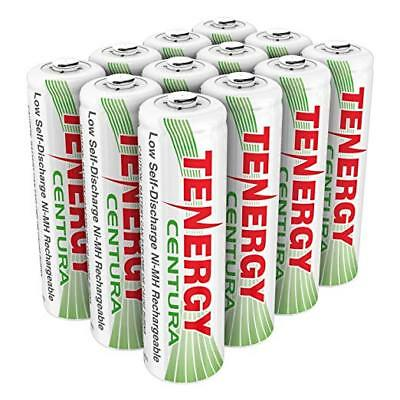 Discharge Nimh Battery - Tenergy 12PCS Low Self Discharge Centura AA 2000mAh NiMH Rechargeable Batteries
