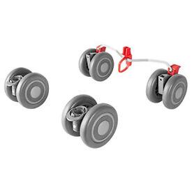 New Maclaren Wheels - Grey