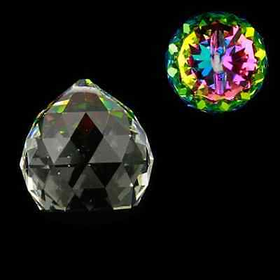 Feng Shui Kristall Regenbogen-Kristalle Kugel multicolor AAA Qualität 3 Stück