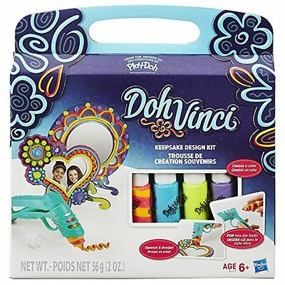 NEW HASBRO PLAY-DOH DOHVINCI KEEPSAKE DESIGN KIT B1717
