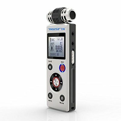 Trustin Portable Rechargeable 8GB Professional Digital Audio Voice Recorder Mp3