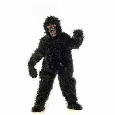 Gorilla schwarz Jungenkostüm Menschenaffe Affe - Kostüm Schwarzen Menschen
