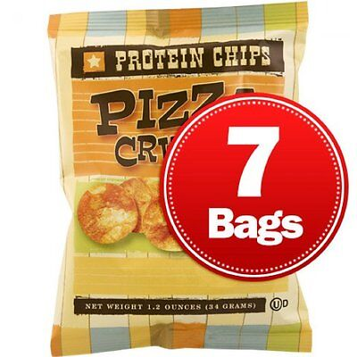 NutriWise | Pizza Flavor Diet Chips | High Protein, High Fiber, Low Fat, Low Cal