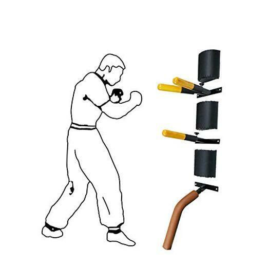 Wing Chun Dummy for Martial Arts Training-3 Wall Mounted Wing Chun Dummy