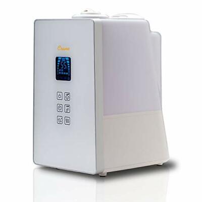 Crane- 1.2 Gallon Digital Clean Control Warm & Cool Mist Humidifier, White