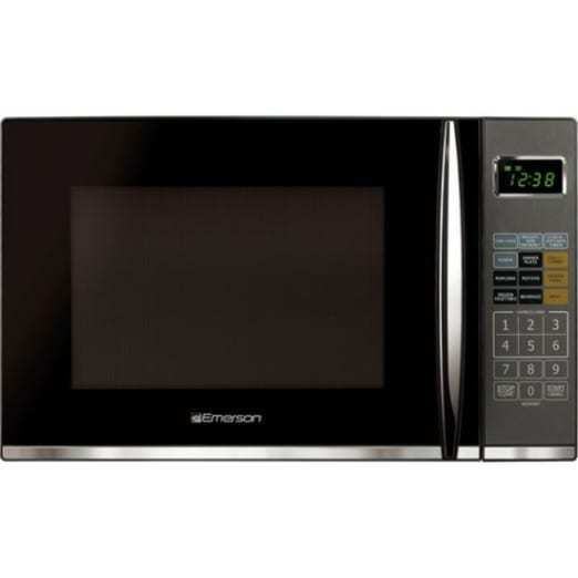 Emerson 1.2 Cu. Ft. 1100w Griller Microwave Oven With Touch Control, Stainless Steel, Mwg9115sb 9