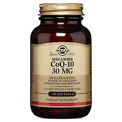 (Solgar Megasorb CoQ-10 30 mg Softgels 120)