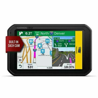 "Garmin Dezl 785 LMT-S 7"" GPS Truck Navigator With Built-in Dash Cam 010-01856-00"