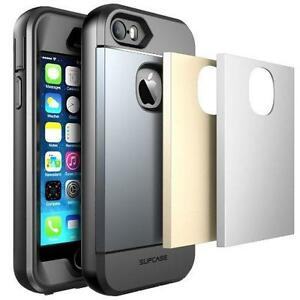 SUPCASE iPhone SE / 5S / 5 Water Resist Full-Body Rugged Case with Built-in Screen Protector
