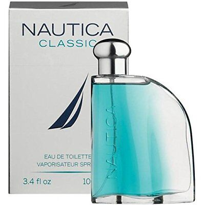 Nautica Classic Eau De Toilette Vaporisateur Spray 3.4 FL.OZ. NEW SEALED F/S
