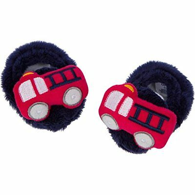 - Gerber Baby Boys Velboa Booties NEW Size 0-6 Months Firetrucks Adorable