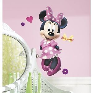 Super Sweet Minnie Mouse Twin Ensemble & Curtains Wall stickers Cornwall Ontario image 2