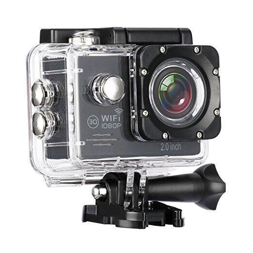 0a6cbaba215 MixMart Sports Action Camera WI-FI Waterproof 16MP 1080P NEW ...