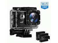 Action cam with wifi