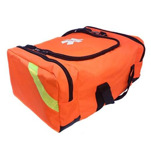 First Responder Paramedic Rescue EMT Trauma Bag Orange