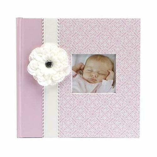 C.R. Gibson Baby Photo Album~Bella~Baby Girl Photo Album