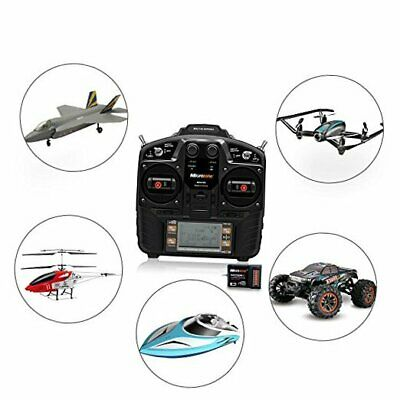 RC Remote and Receiver, 2.4G 8CH Remote Controller RC Transmitter with 9CH Recei