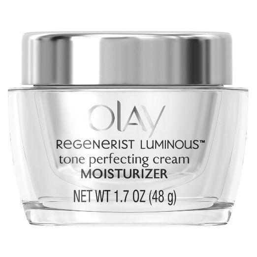 Olay Regenerist Luminous Tone Perfecting Cream Moisturizer, 1.7 oz