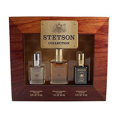 Coty Stetson Collection 3 Piece Gift Set for Men