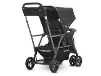 Joovy Caboose Ultralight Graphite Stand-On Tandem Pushchair (Black) - Used