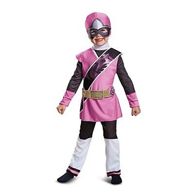Disguise Power Ranger Ninja Stahl Pink Deluxe Kleinkinder Halloween Kostüm 18834
