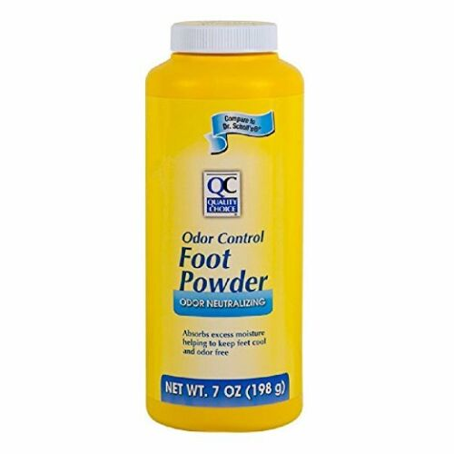 Quality Choice Foot Powder Odor Control 7oz Each
