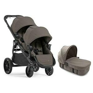 Baby Jogger City Select LUX Double Stroller with LUX Bassinet