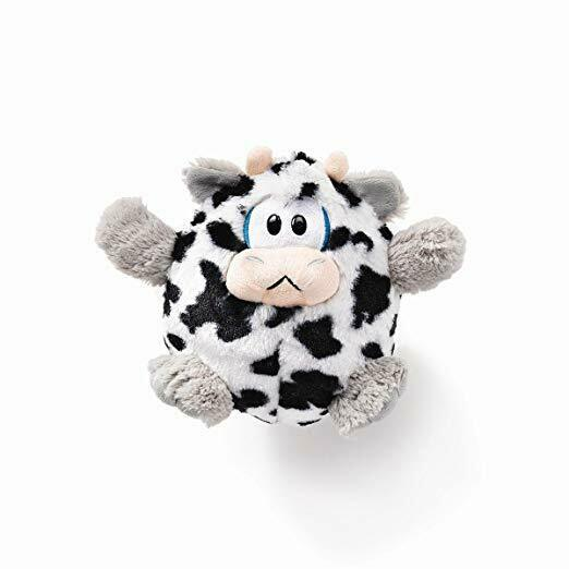 DEMDACO Plush Toy, Giggaloos Cow