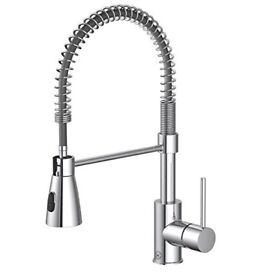 New Watersmith Seville pull out kitchen mixer tap