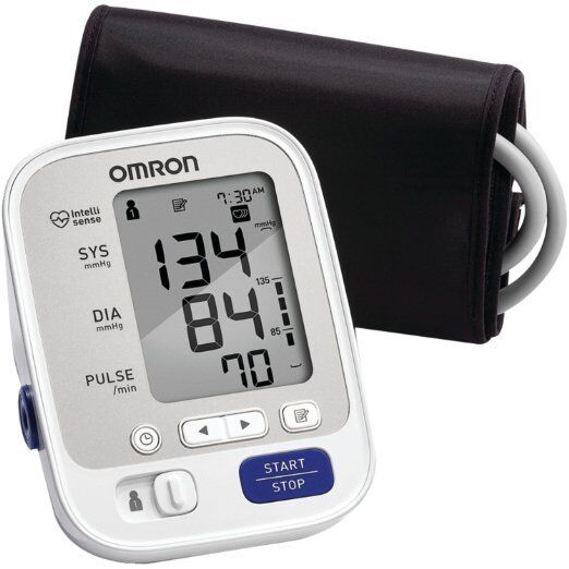 Omron 5 Series Upper Arm Blood Pressure Monitor with Cuff (2 Pack)