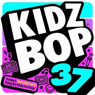 Kidz Bop 37 Cd   Kidz Bop Kids  2018    New Unopened   Pop Rock