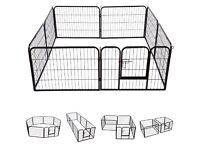 Puppy cage/ playpen /whelping pen with additional extension pieces