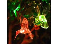 NEW LED HUMMINGBIRD SOLAR FAIRY LIGHTS🔥💡