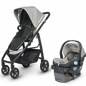 Uppababy Cruz stroller + Peg-Perego  4-35 car seat+adapter.
