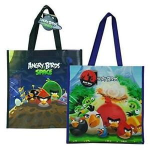 Angry Birds with Space Non Woven Tote Bag 2 Assorted
