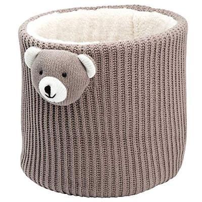 Elegant Baby Bear Crochet Storage