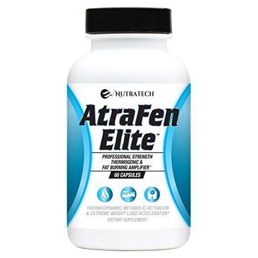 Atrafen Elite Professional Formula Fat Burner Diet Thermogen