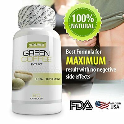 Green Coffee Bean Extract Weight Loss 800 Mg Chlorogenic Acid Diet