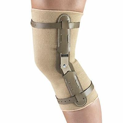 NEW Truform OTC Large Knit Elastic Lightweight Hinged Bar Knee Support Brace  ()