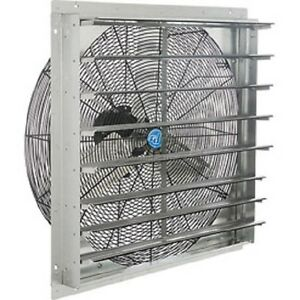New Exhaust Ventilation Fan With Shutter 18 Quot Single Speed