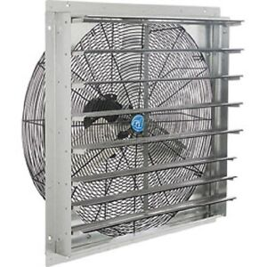 New Exhaust Ventilation Fan With Shutter 18 Single Speed