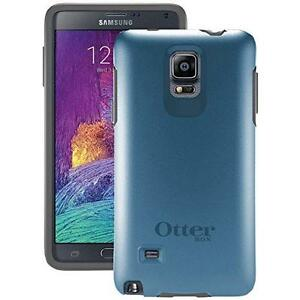 Otterbox Samsung Galaxy Note 4 Symmetry Series Case - Retail Packaging - Blue Print Ii ( New-Neuf )