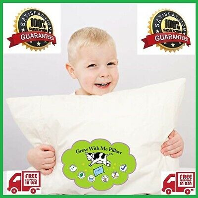 Best Toddler Pillow - Designed For Kids. Adjustable Fill Helps Children With... (Best Pillows For Kids)