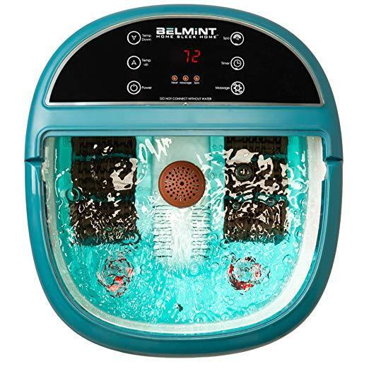 foot spa massager machine heat tub bubbles