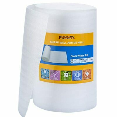Foam Wrap Roll 12x60 Feet Packing Foam Sheets Packing Supplies For Moving