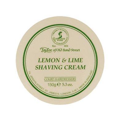 Lemon Lime Shaving Cream (Taylor of Old Bond Street Lemon & Lime Shaving Cream 5.3 oz)