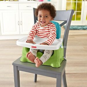 Fisher-Price Healthy Care Booster Seat, Green